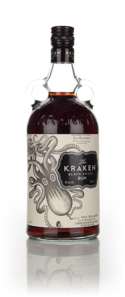 The Kraken Black Spiced Rum '47' Dark Rum