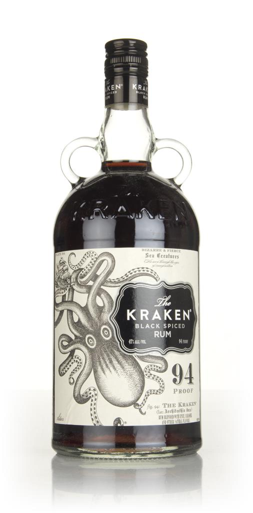 The Kraken Black Spiced Rum 94 Proof (1L) Spiced Rum