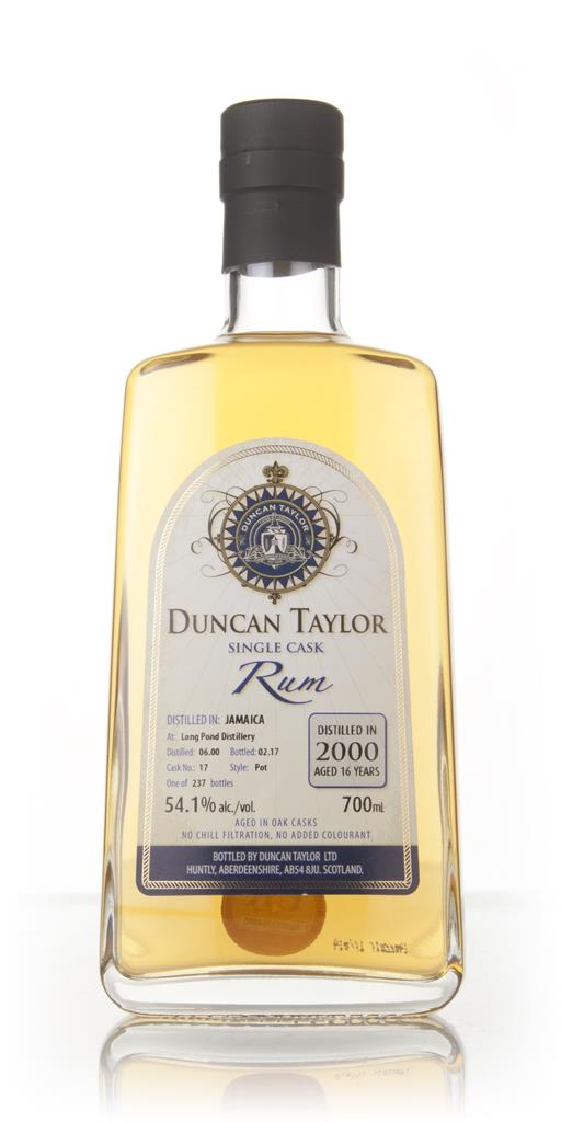 Long Pond 16 Year Old 2000 (cask 17) - Single Cask Rum (Duncan Taylor) Dark Rum