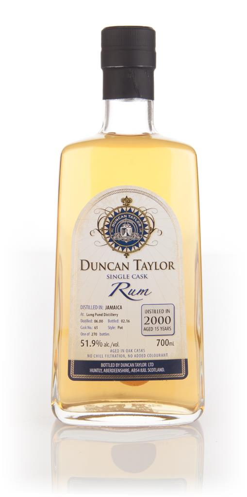 Long Pond Distillery 15 Year Old 2000 (cask 65) - Single Cask Rum (Dun Dark Rum