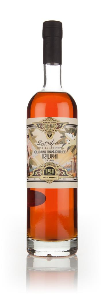 Lost Spirits - Cuban Inspired Rum (151 Proof) Dark Rum