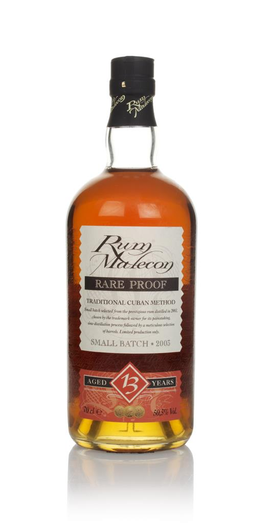 Malecon 13 Year Old 2003 - Rare Proof Dark Rum