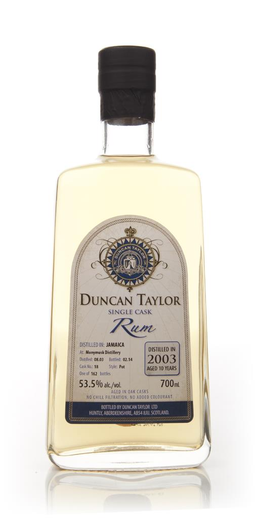 Monymusk 10 Year Old 2003 (cask 18) - Single Cask Rum (Duncan Taylor) Dark Rum