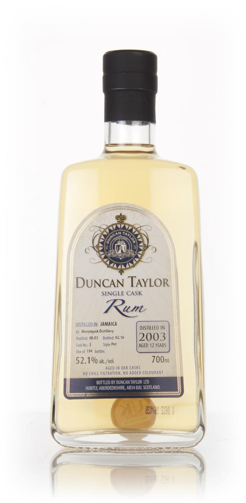 Monymusk 12 Year Old 2003 (cask 2) - Single Cask Rum (Duncan Taylor) Dark Rum