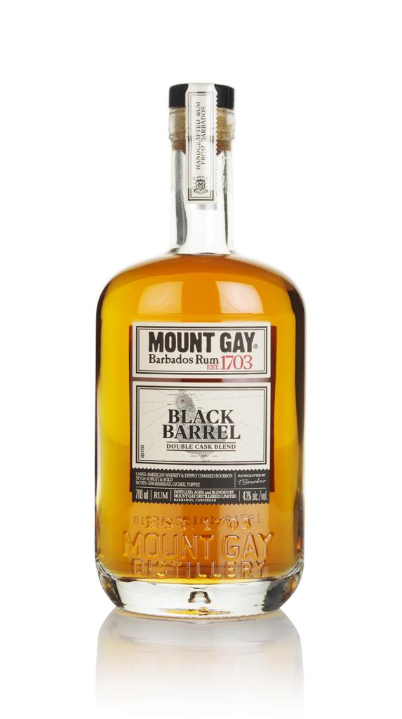 Mount Gay Black Barrel Double Cask Blend Dark Rum