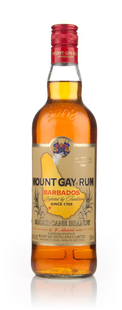 Mount Gay Rum (Sugar Cane Brandy) - 1990s Dark Rum