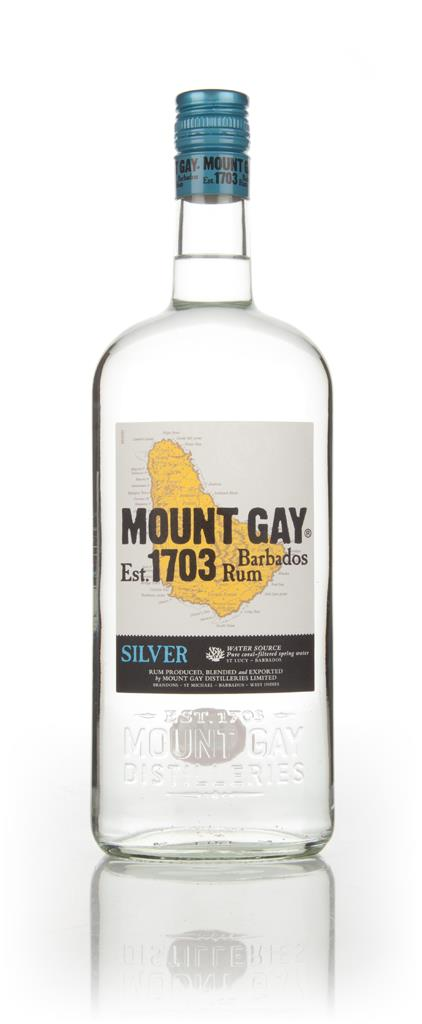 Mount Gay Silver 1L White Rum