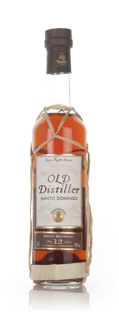 Old Distiller 12 Dark Rum