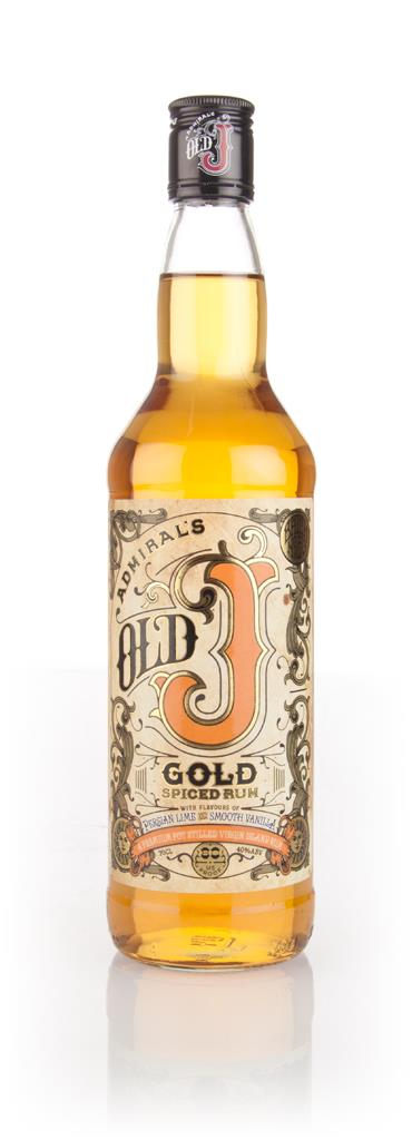 Admiral Vernon's Old J Gold Spiced Spiced Rum