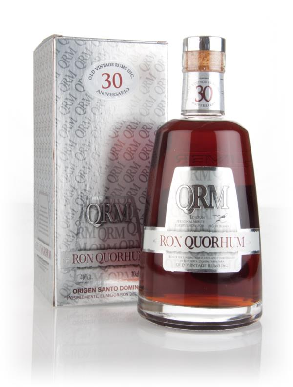 Ron Quorhum 30 Anniversario 3cl Sample Dark Rum