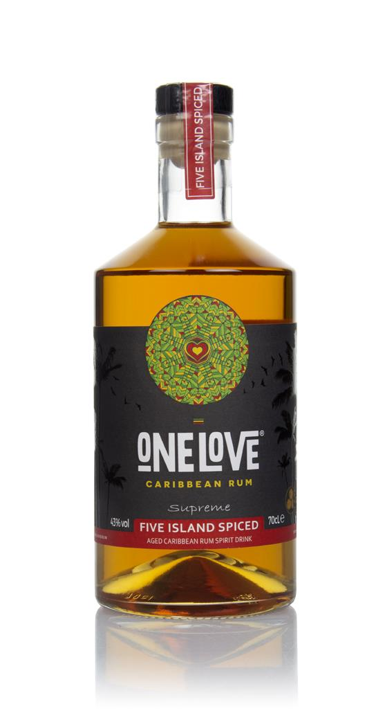 One Love Five Island Spiced Spiced Rum