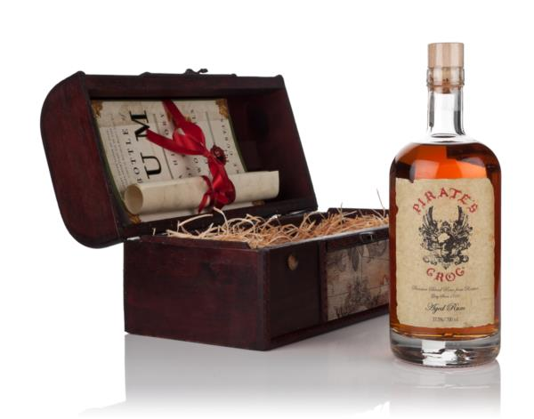 Pirates Grog Rum Gift Chest Dark Rum