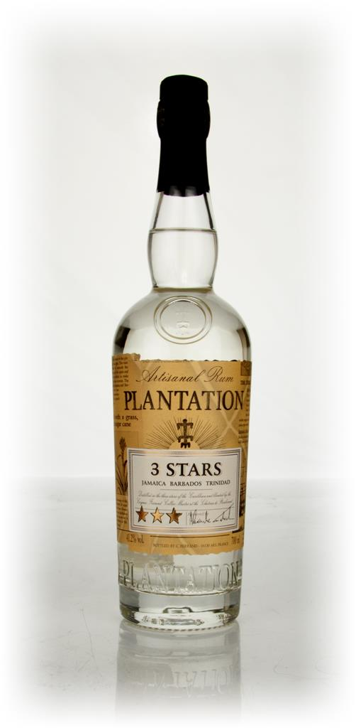 Plantation 3 Stars White Rum 3cl Sample White Rum