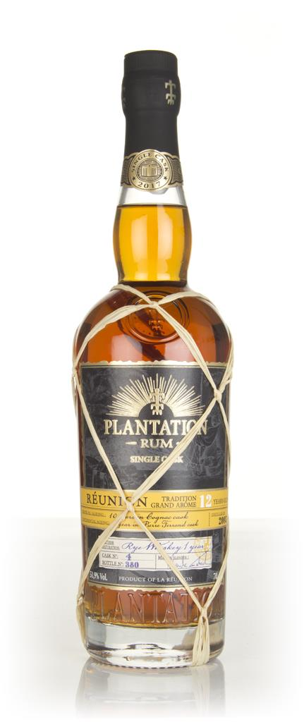 Plantation Reunion 12 Year Old Rye Cask Finish Rhum Agricole Rum
