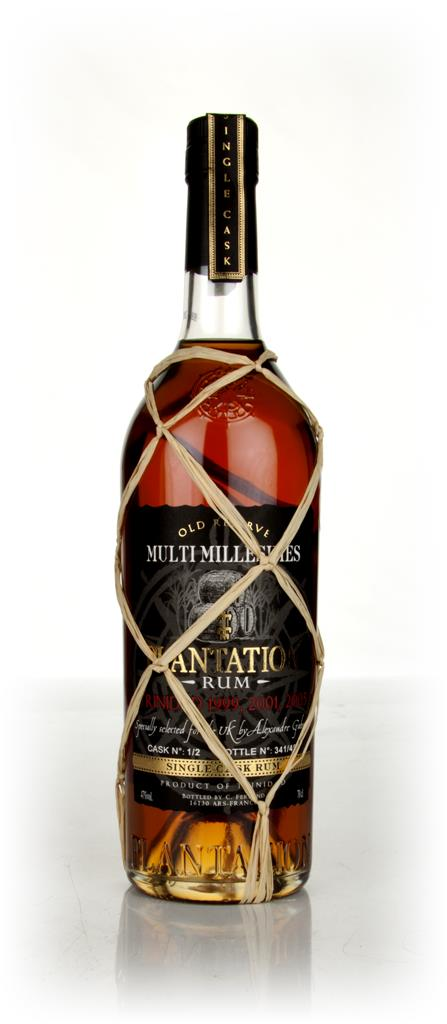 Plantation Trinidad Millesimes Single Barrel Dark Rum