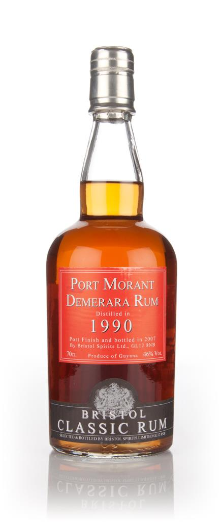 Port Morant 1990 (bottled 2007) - Bristol Spirits Dark Rum