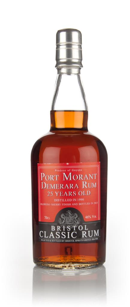Port Morant 25 Year Old 1990 Oloroso Sherry Cask Finish (Bristol Spiri Dark Rum