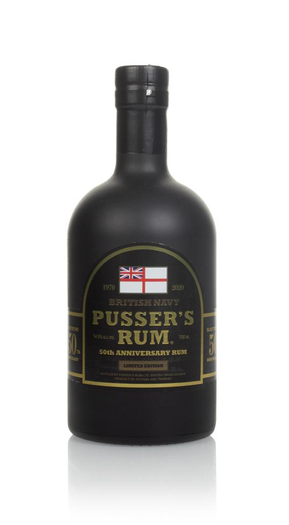 Pussers 50th Anniversary Dark Rum