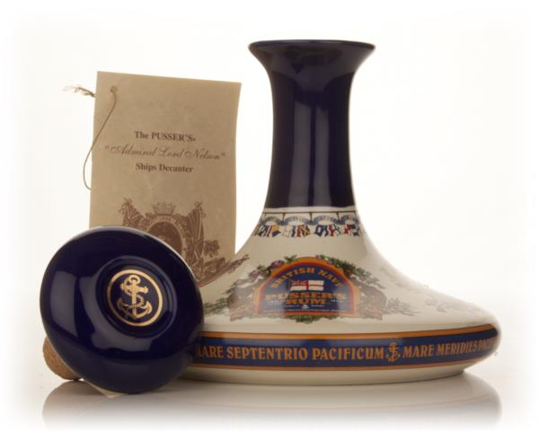 Pusser's Admiral Lord Nelson Ship's Decanter Dark Rum