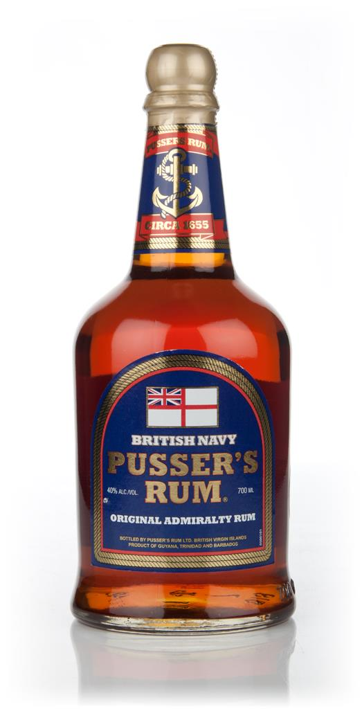 Pusser's Blue Label 3cl Sample Dark Rum
