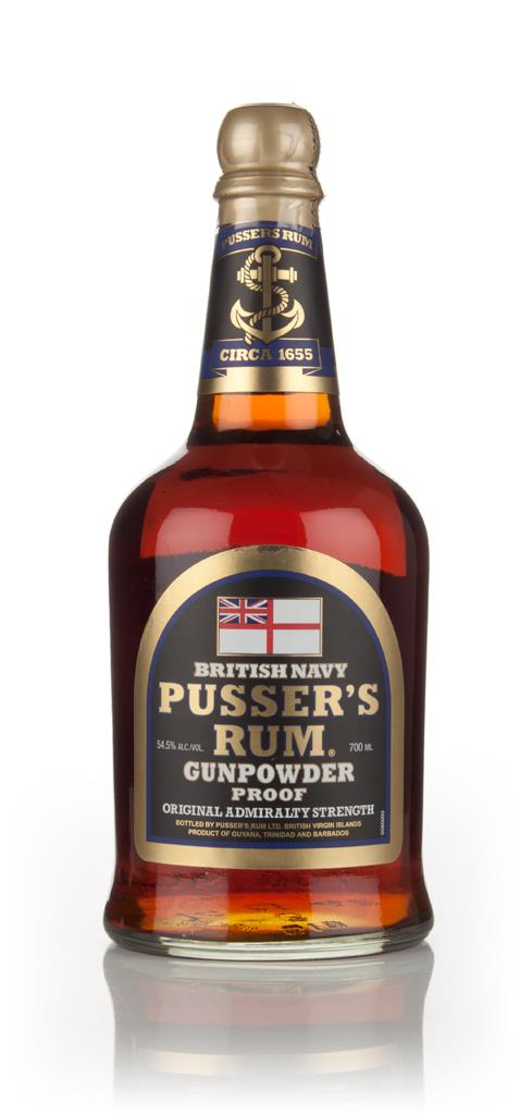 Pussers Gunpowder Proof Black Label Dark Rum