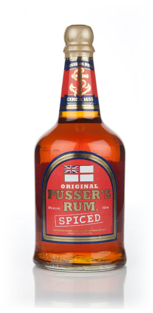Pusser's Spiced Rum Spirit Drink 3cl Sample Spiced Rum