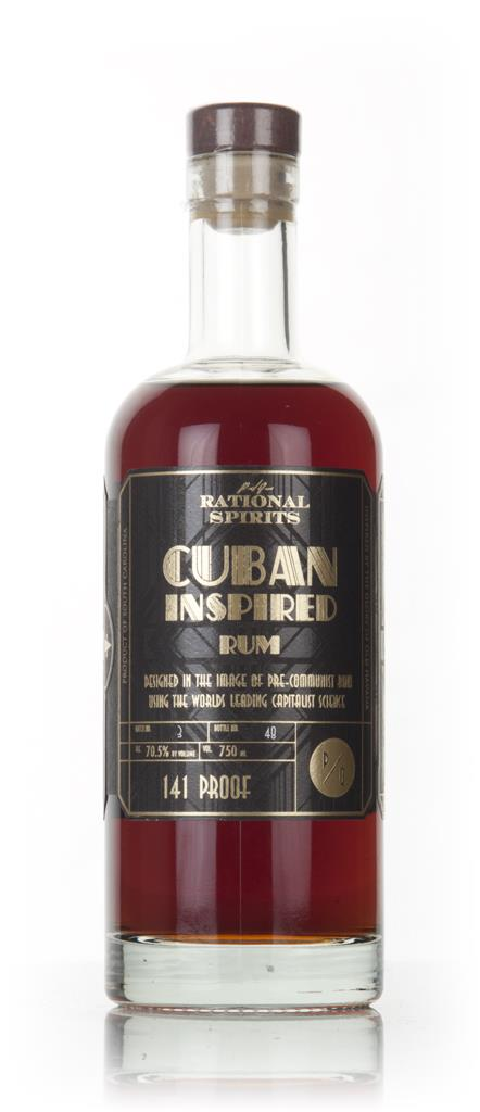 Rational Spirits Cuban Inspired Rum (141 Proof) 3cl Sample Dark Rum