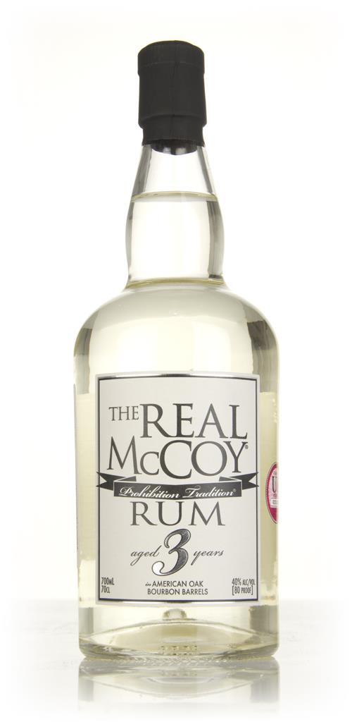 The Real McCoy 3 Year Old 3cl Sample White Rum