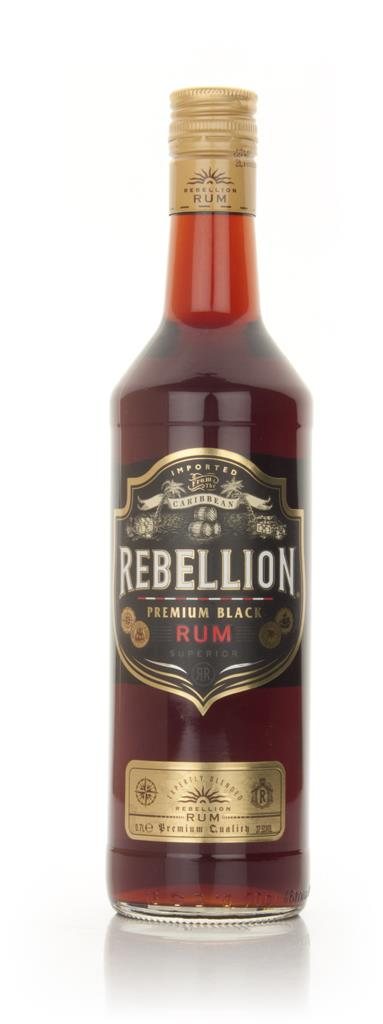 Rebellion Premium Black Dark Rum