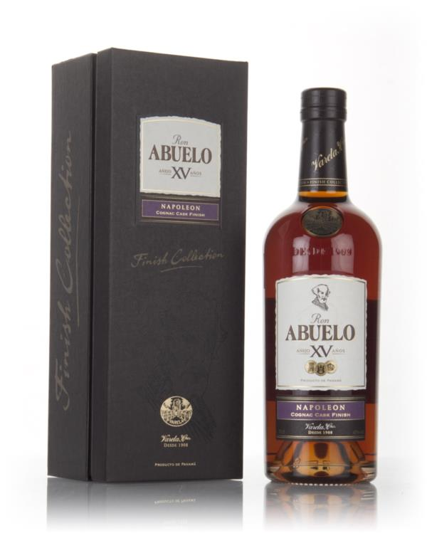 Ron Abuelo XV - Napoleon Cognac Cask Finish 3cl Sample Dark Rum
