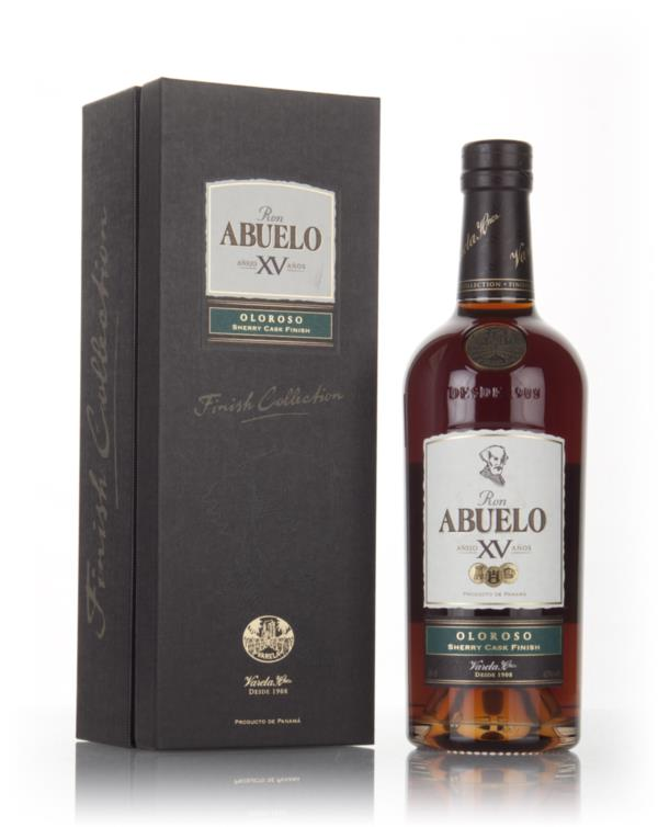 Ron Abuelo XV - Oloroso Sherry Cask Finish 3cl Sample Dark Rum