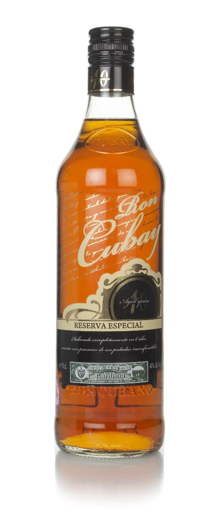 Ron Cubay 10 Year Old - Reserva Especial Dark Rum