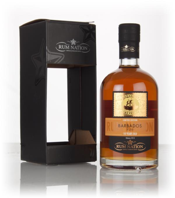 Rum Nation Barbados 10 Year Old (2014 Release) Dark Rum