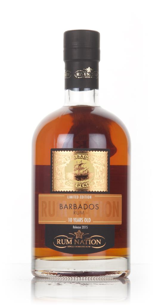 Rum Nation Barbados 10 Year Old (2015 Release) Dark Rum