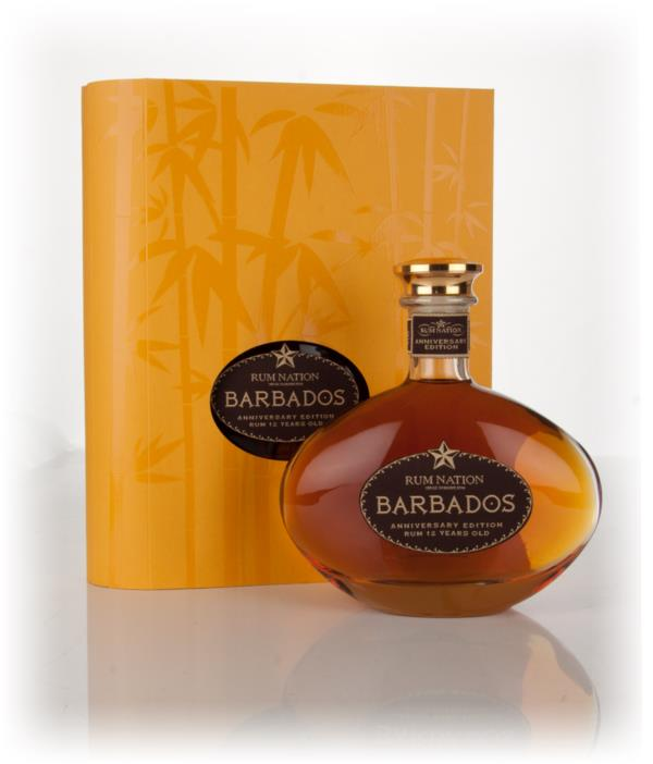 Rum Nation Barbados 12 Year Old Anniversary Edition Dark Rum