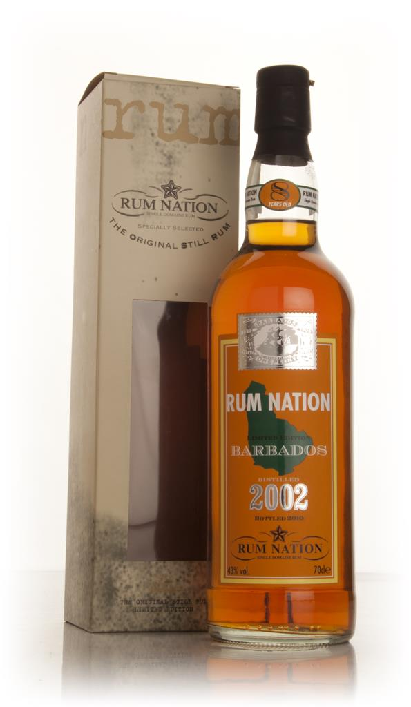 Rum Nation Barbados 8 Year Old 2002 Dark Rum
