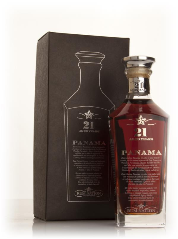 Rum Nation Panama 21 Year Old Dark Rum