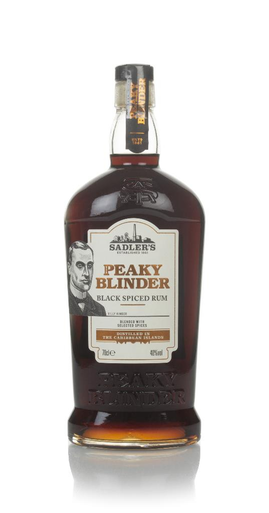Peaky Blinder Black Spiced Rum 3cl Sample Spiced Rum