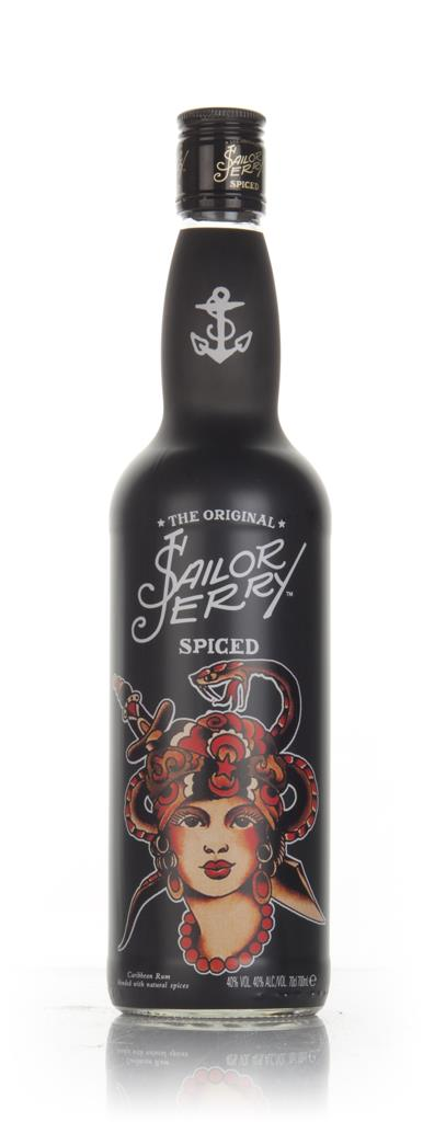 Sailor Jerry - Flash Art #1 (First Design) Spiced Rum