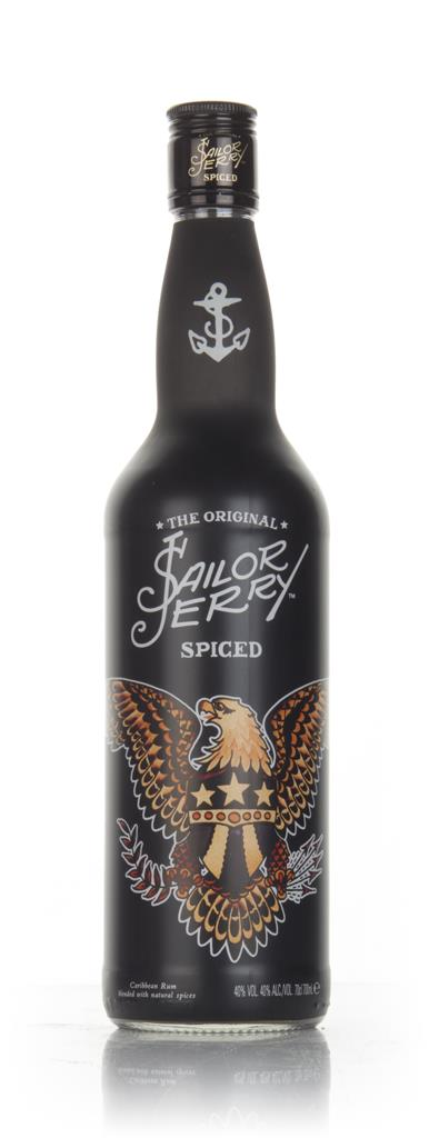 Sailor Jerry - Flash Art #2 (First Design) Spiced Rum