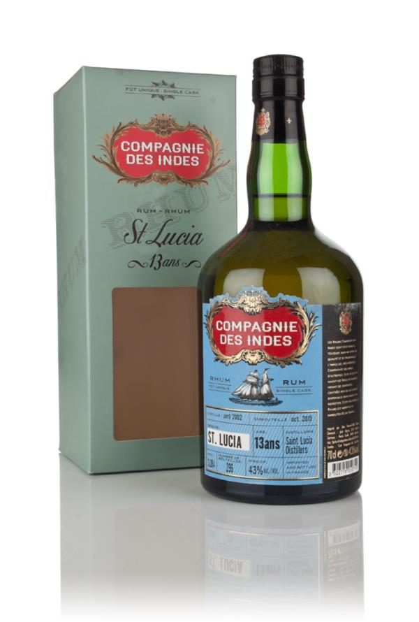 Saint Lucia Distillers 13 Year Old - St. Lucia Rum (Compagnie des Inde Dark Rum 3cl Sample