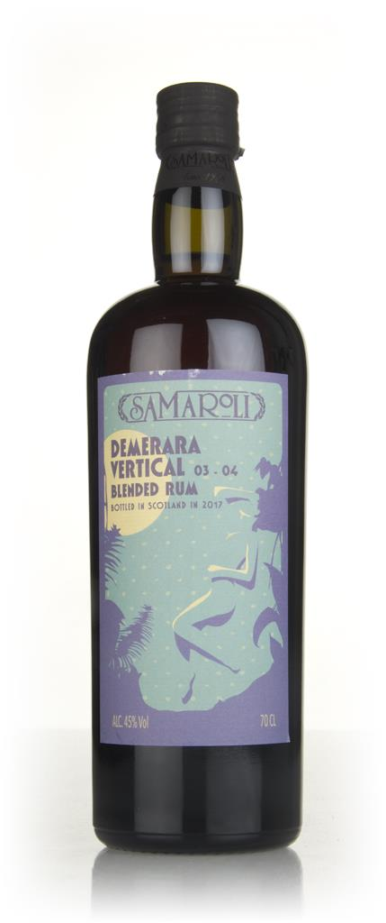 Samaroli Demerara Vertical 03-04 - 2017 Edition 3cl Sample Dark Rum