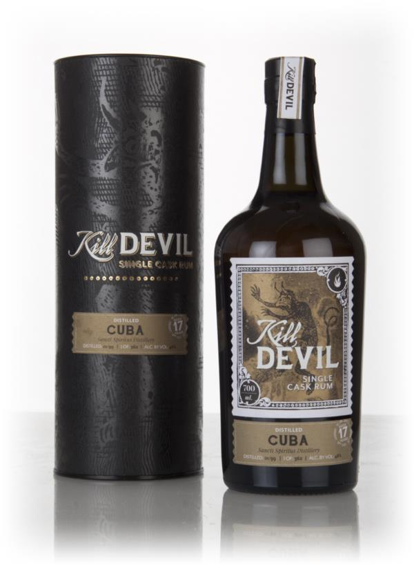 Sancti Spiritus 17 Year Old 1999 Cuban Rum - Kill Devil (Hunter Laing) Dark Rum