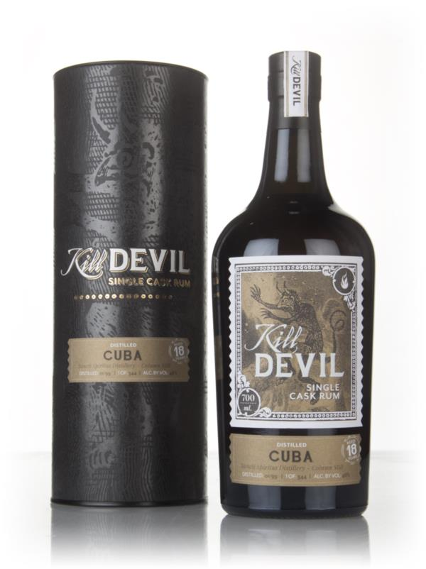 Sancti Spiritus 18 Year Old 1999 Cuban Rum - Kill Devil (Hunter Laing) Dark Rum