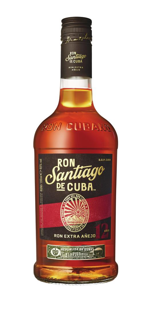 Santiago De Cuba 12 Year Old Extra Anejo 3cl Sample Dark Rum