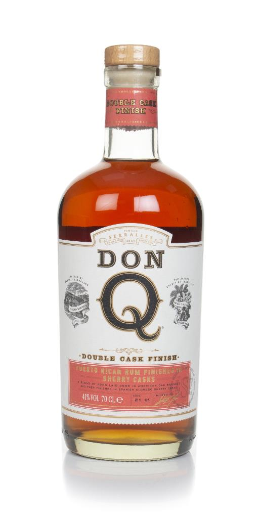 Don Q Double Cask Sherry Wood Finish Dark Rum