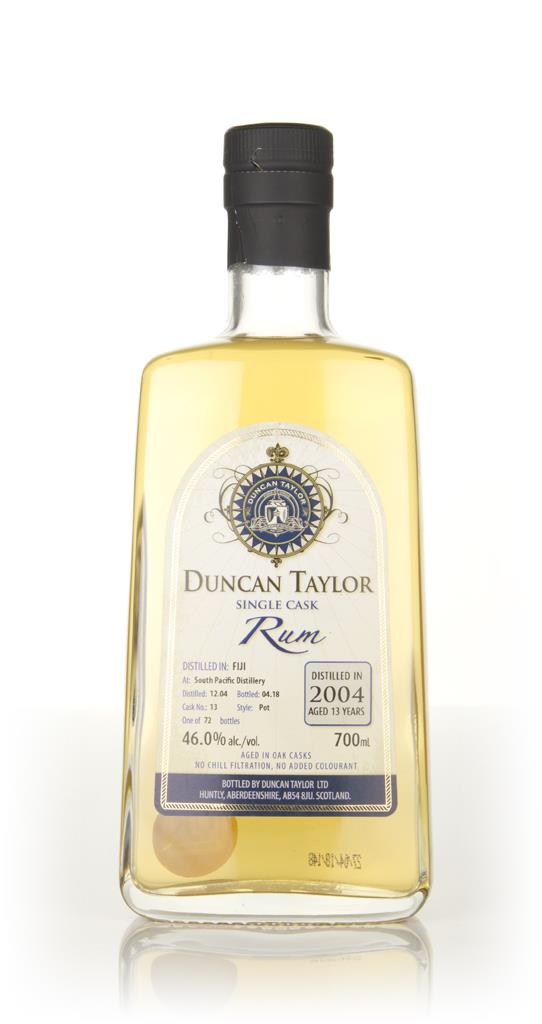 South Pacific 13 Year Old 2004 (cask 13) - Single Cask Rum (Duncan Tay Dark Rum