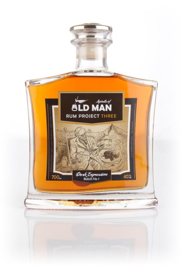 Spirits of Old Man Rum Project Three - Dark Expression Dark Rum