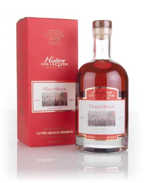 St. Aubin History Collection Mauritius Cuvee Grande Reserve 3cl Sample Rhum Agricole Rum