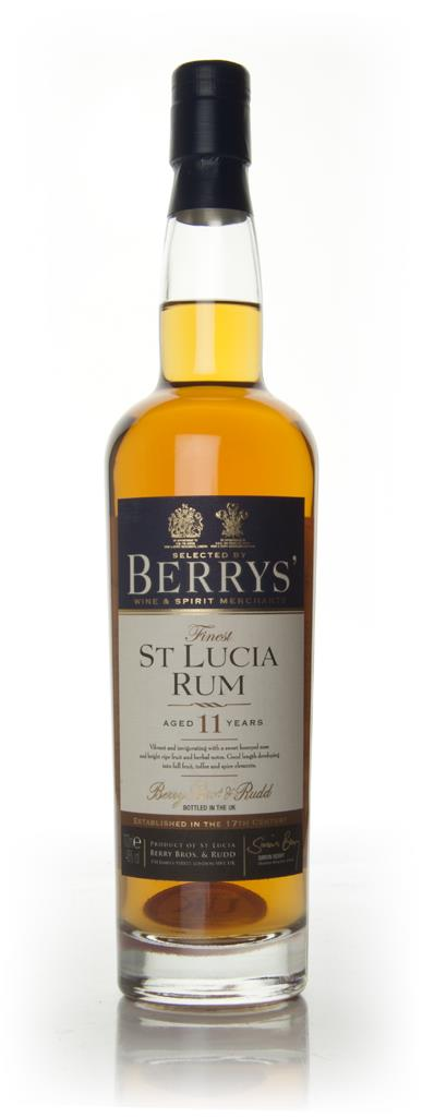St Lucia 11 Year Old 1999 (Berry Bros. & Rudd) Dark Rum